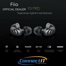 Fiio F9 Pro Triple Driver Hybrid In-ear Monitor Earphones with 1 Year Local Warranty