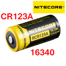 NITECORE CR123 Lithium Rechargeable Battery/16340/20700/21700/CR123A/CR2 Battery charger