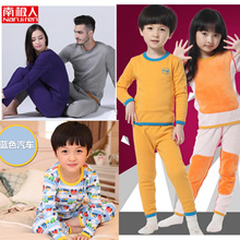 Winter Thermal underwear Inner Wear sweater pajamas sleepwear down jacket coat Girl Boy /cotton