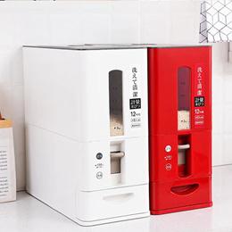 ★PREMIUM QUALITY Japanese Automatic Rice Dispenser Storage (6kg/12kg)