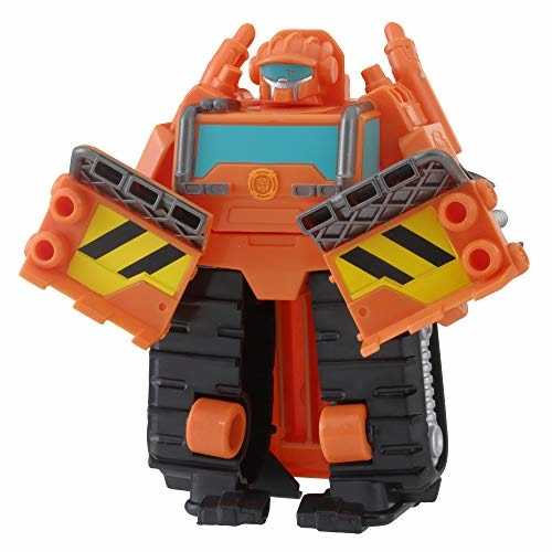 💖$1 Shop Coupon💖 Playskool Heroes Transformers Rescue Bots Salvage Cement  Mixer