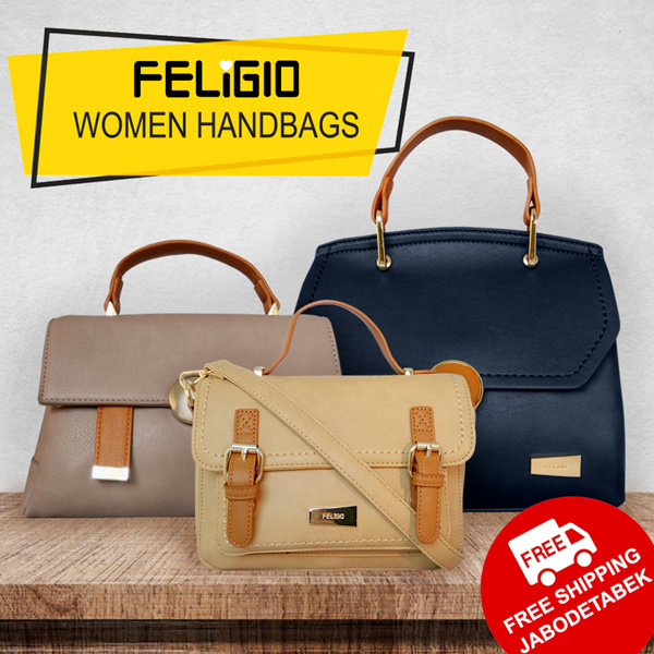 [FELIGIO BAG]SALE 80% OFF PREMIUM MODEL_TOTE BAG_WOMEN BAG_MODELS_FREE SHIPPING JABODETABE Deals for only Rp205.500 instead of Rp297.826