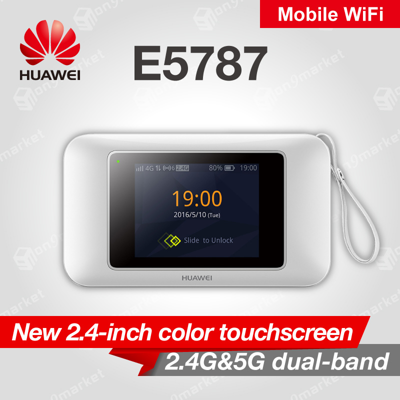 HuaweiHuawei 4G E5787 Travel Mobile WiFi White Router best competitor  Xiaomi 300Mbps Mifi