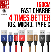 ★Best-Seller★4X FASTER★3-in-1 Speed Charge Cable★2.4A USB Charger★Apple/Samsung/Huawei/OPPO/XiaoMi★