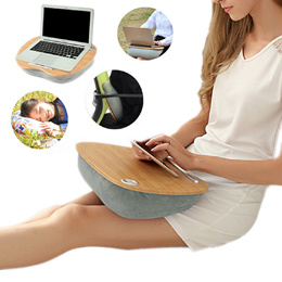 Tablet Laptop Pillow Cushion Desk Notebook Table Stand Bed Sofa Tray For IPad