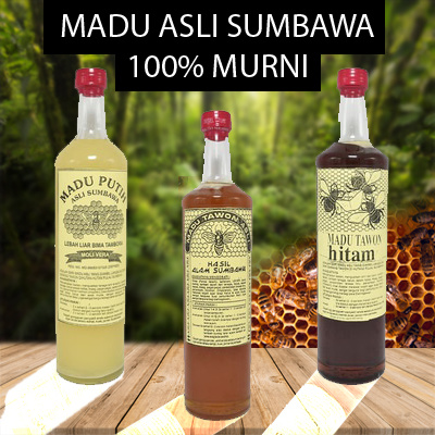 Madu Asli Sumbawa 100% Murni Deals for only Rp119.000 instead of Rp150.633