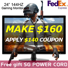 [MAKE $160]24inch 144Hz Gaming Monitor AS-2414CLED Free Gift Power cableFree Fedex FHD