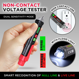 ★SG★PROFESSIONAL Voltage Test Pen 50-60Hz AC12-1000V Non-contact AC voltage detector Flash Light