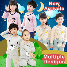 🆕1-7 yrs kids pajamas💓100+ designs💓new style💓comfortable💓cool💓