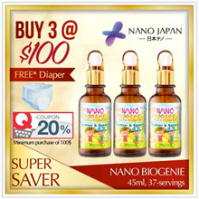 [BUY 3 = $22.67ea* +FREE* SHIPPING] ♥CLINICALLY-PROVEN ♥#1 KIDS BOOST RESISTANCE ♥NANO BIOGENIE
