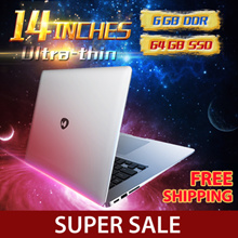 Daysky DK ultra-thin laptop、14 Inch、 Portable office business netbook、Fashion、Portable