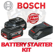 BOSCH 18V 4.0Ah STARTER KIT / SUITABLE FOR ALL BOSCH CORDLESS TOOLS / FAST CHARGER