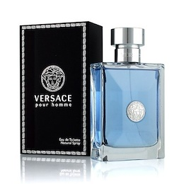 PERFUME VERSACE POUR HOMME MAN 100ML EDT SPRAY FRAGRANCE