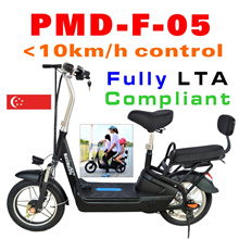 Fully LTA compliant 16inch tyre with 2 seats Lithium Electric Scooter E-scooter Escooter