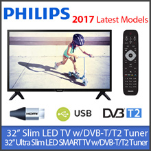 "Philips 32PHT4002 Slim LED TV / Philips 32PHT5102 32"" Smart TV  ★1 YEAR WARRANTY★ DVB-T/T2 Tuner"