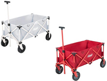 Coleman Coleman multipurpose carrier outdoor wagon removable cart / red / light gray