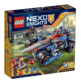 LEGO NexoKnights Clays Rumble Blade 70315