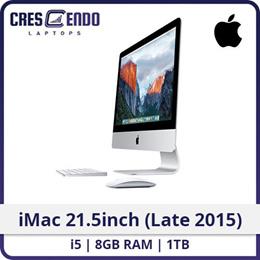 [Refurbished] iMac 21.5inch (Late 2015) Iris Pro 6200 i5-5th /8GB / 1TB WIN10 / One Month Warranty