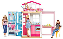 Barbie Lp Doll House, Yellow