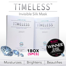 [CHEAPEST IN Qoo10] TIMELESS INVISIBLE SILK MASK SHEET (5 PCS)