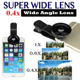 ★ 0.4X Super Wide Angle Mobile Phone Lens Universal Smartphone Camera Lens