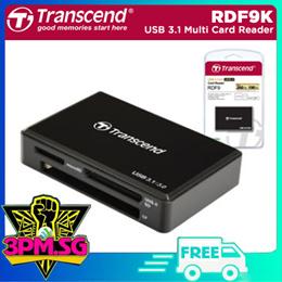 Transcend RDF9K USB 3.1 Multi Card Reader (Black) 1 Year Local Warranty