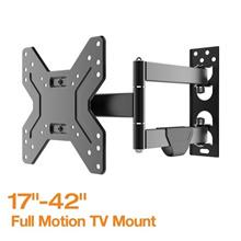 FLEXIMOUNTS V1 Full Motion TV wall mount Bracket for 14  -42   LCD LED HD TV