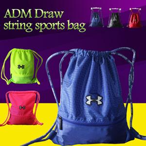 Lowest Price▷UNDER ARMOUR Waterproof Drawstring Bag◁Sports Backpack Travel  Bag Shoe Bag Shoulder Bag  Soccer Basketball Bags  Unisex  5pcs same  delivery ... 0885567b20364