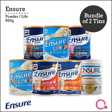 [Abbott]【Bundle of 2】Ensure Powder/ Life 850g – For Singapore market