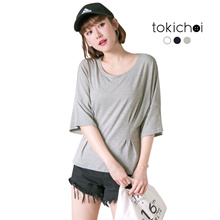 TOKICHOI - Oversized Detail Basic Top-180730