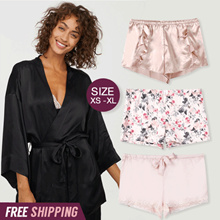 FREE SHIPPING_HM Kimono Sleepwear_Short Pants Sleepwear _Linggerie_Fashion and Apparel