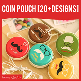 COIN POUCH [20+ designs]_ Stocks SG_ / coin purse/ coin case/ coin box/ coin holder/ cartoon case/
