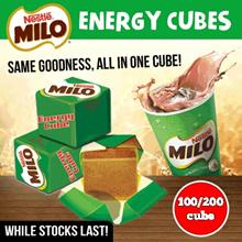[Qoo10 Special Promo] HEALTHY SNACK NESTLE MILO CUBE (100/200 Cubes)