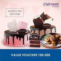 [DESSERT] Clairmont Cake Value Voucher 100.000 /Clairmont Cake