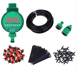 25m Micro Drip Irrigation System Plant Automatic Spray Greenhouse Watering Kits Garden Hose Adjustab