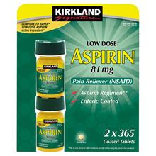 ★ Lowest Price ★ Kirkland Aspirin United States Aspirin 81 mg 730 Tablets / low dose aspirin