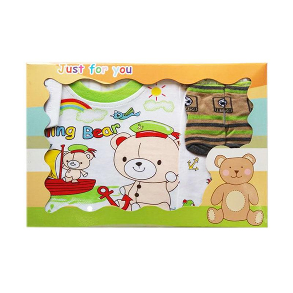 MOMO Gift Set Pakaian Hello Kitty | Mickey Mouse | Minnie Mouse | Spongebob Deals for only Rp70.000 instead of Rp70.000