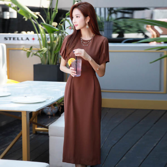 スタイルオンミパフリボンダブル開けたこと、ワンピース スーツワンピース/ 韓国ファッション