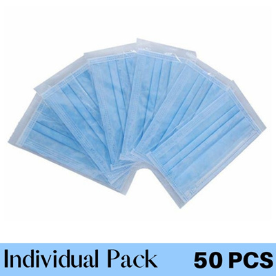 Adult Blue 50PCS Individual Pack with BOX
