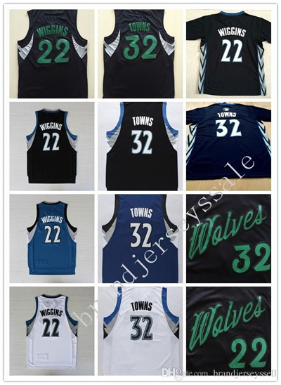 online store a552c c33d6 Top Quality! New arrival Men 32 Karl Anthony Towns Jerseys Christmas Game  jerseys Uniforms 22 Andrew