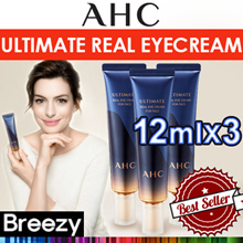 BREEZY ★ [AHC] Ultimate Real Eyecream for Face 12mlx3 /  A.H.C-Real Eye Cream 30ml