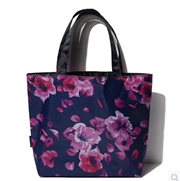 Sided quiet romantic lunch bag flowers——nb