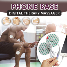 【NEW AND IMPROVED!】Phone Base Low-frequency Digital Therapy Massager ♥ Reduce pain and stiffness!