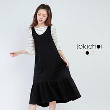 TOKICHOI - Ruffled Hem Romper-172281-Winter