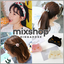 V series FASHION ACCESSORIES ($2~$6)  /Hair ties / Baby Headband / clip /Hair band/Head Band/ V
