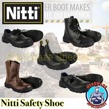 Nitti Industrial Safety Shoe / Safety Boot
