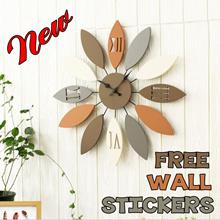 【YOUTING】unique crystal clock watch 3D Modern art Clock Flip Clock Wall clock❤DIY digital alarm