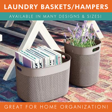 [BL] FILO SERIES LAUNDRY BASKETS / HAMPERS / BASKETS | MULTIPLE DESIGNS
