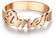 DIY Design Ring (2896) Rose Gold Color