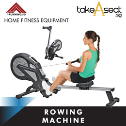 ROWING MACHINE | FITNESS EQUIPMENT | HOME GYM | EXERCISE | WORKOUT